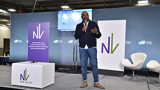 Essence Owner and New Voices Founder, Richelieu Dennis, shares his vision for creating a diverse entrepreneurial ecosystem