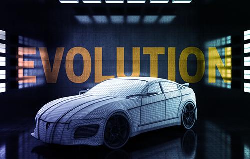 Concept car evolution