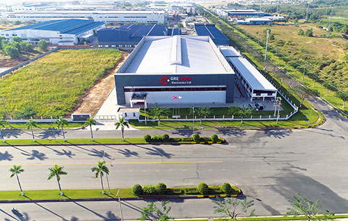 GRE Manufacturing facility in Vietnam