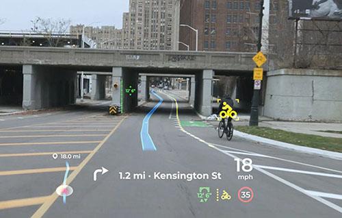 Panasonic augmented reality display