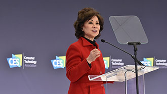 U.S. Secretary of Transportation Elaine L. Chao at CES 2020