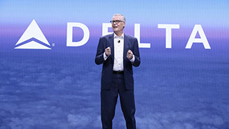 Delta Air Lines CEO Ed Bastian at CES 2020
