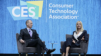 Presidential Advisor Ivanka Trump and CTA Gary Shapiro at CES 2020